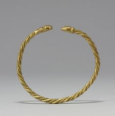 Viking Arm Ring (9th century, Walters Art Museum, Baltimore)