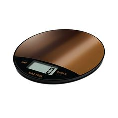 Salter's Metallic Electronic Kitchen Scale is able to add and weigh multiple ingredients in the same bowl, perfect for quick and easy measuring. It is also aquatronic for measuring liquids and features a smooth touch-sensitive button, this scale is very responsive and easy to use with a maximum weight limit of 8kg this electronic scale is a modern yet practical addition to any kitchen counter. Supplied with a 15 year guarantee. Electronic Kitchen Scales, Kitchen Electronics, Electronic Scale, Digital Kitchen Scales, Digital Scale, Cute Kitchen, Copper Metal