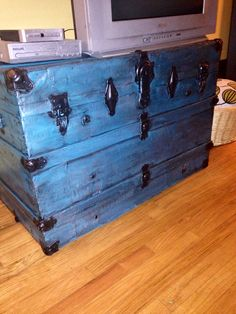 Old trunk made new
