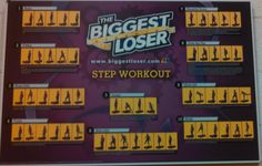 biggest loser step workout chart | As far as the weight machines went, they totally kicked my butt and ...