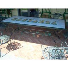 Tavolo Tavolino in FERRO BATTUTO . Realizzazioni Personalizzate . 654