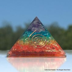 The chakra crystal healing pyramid has been designed with Reiki healing in mind.  It is structured with the chakra layers created in colours and crystals. If you are working on your own healing to the healing of another in meditation - consider this pyramid if you are working on healing.