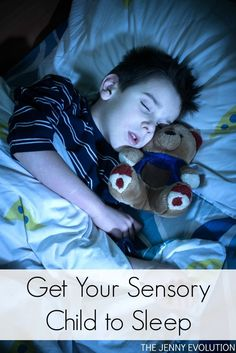 How to Get Your Sensory Child to Sleep - Tips and Tricks from a Sensory Mom