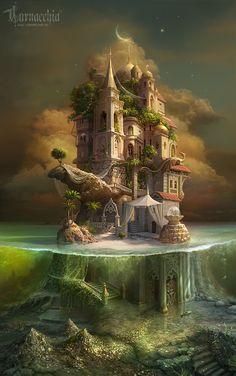 Home | Photomanipulation | Остров похищенных царевен