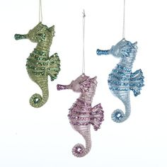Marine Life Christmas Ornaments — Kathln