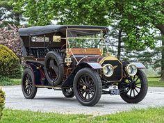 Pierce-Arrow Model 48 Touring, 1910