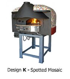 Four à pizza à bois combustion du gaz MIX85RK, Série MIX-R