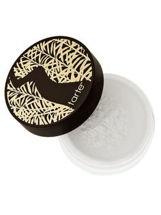 Apply finishing powder strategically on the T-zone or where oil tends to develop throughout the day. Powdering your entire face—including dry patches—can cause your makeup to look cakey. Tip: opt for a translucent loose powder, which is lighter and more absorbent than its pressed counterpart. Smooth Operator Amazonian Clay Finishing Powder, Tarte $33