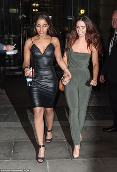Close bond: She has remained on good friends with Hollyoaks beauty Jennifer. The actresses are seen in May 2015