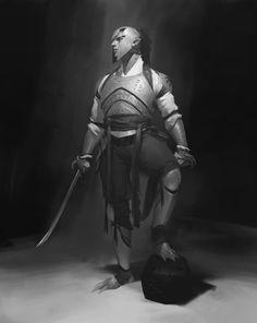 JiHun Lee rough https://www.artstation.com/artwork/koBan
