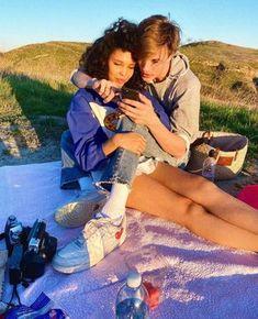 Cute Couples Photos, Cute Couple Pictures, Cute Couples Goals, Couple Goals, Mixed Couples, Teen Couples, Relationship Goals Pictures, Cute Relationships, Lgbt