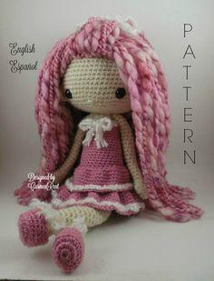 Lupita++Amigurumi+Doll+Crochet+Pattern+PDF+por+CarmenRent+en+Etsy