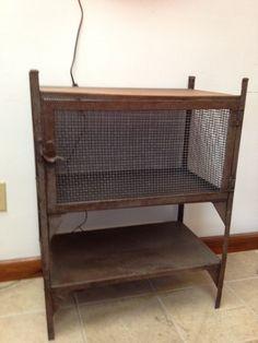 Vintage industrial metal furniture