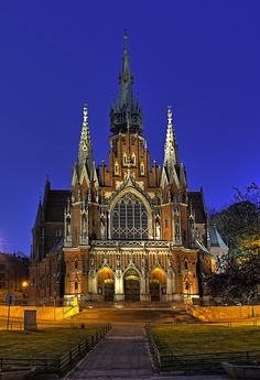 St Joseph's Church , Podgorze, Krakow, Poland.