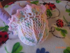 Wide Brim Hat for Preemies free crochet pattern