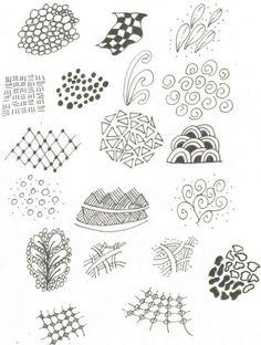 zentangle zendoodle doodle patterns simple templates tangle zentangles drawings zen easy doodles zendoodles doodling drawing examples pattern bored complicated tangles
