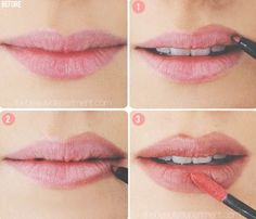 Want Fuller Looking Lips? Try This✨