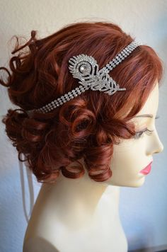 Great Gatsby inspired headpiece and very affordable. Newly added.