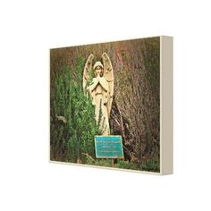 Sedona Angel Wrapped Canvas - #customizable create your own personalize diy