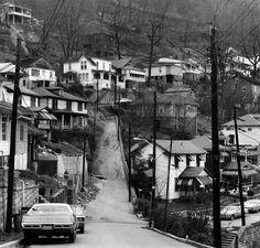 welch, west virginia, 1974.