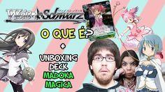 WEISS SCHWARZ! - Tutorial Noob e Unboxing Madoka Magica Trial Deck (c/He...