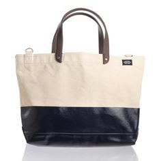 Dipped Coal Bag Natural, $195, now featured on Fab.
