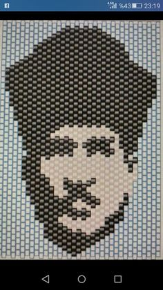Bead Crafts, Jewelry Crafts, Diy And Crafts, Peyote Patterns, Brick Stitch, Perler Beads, Pixel Art, Projects To Try, Drawings