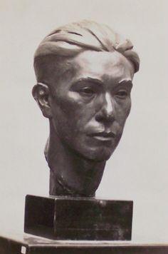 Sculpture by Harry E. Faces, Statue, Art, Novelty Signs, Craft Art, The Face, Kunst, Gcse Art, Face