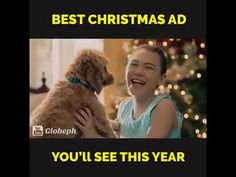 Best Latest Christmas Video  Ads | Best Dog Christmas Ads | Christmas Sh...