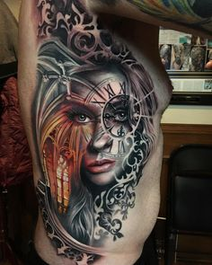 Tattoo works by Rember Orllana