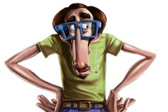 Male Character Illustration #character