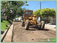 Así Somos: En Deán Funes continúan los arreglos de calles