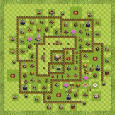 War Base Town Hall Level 11 By Imran sait (Sait TH 11 Layout)