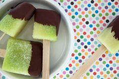 nemme grønne melon is er en sund og lækker sommeris uden sukker og ja uden noget som helst andet end grøn melon - opskrift