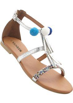 3459dd8c6be531 Mit der süßen Sandale unterstreichst Du Deinen individuellen Modestil auf  eine feminine Art. Ihren Charme
