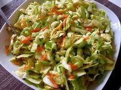 Najlepsze surówki do obiadu! - Blog z apetytem Cooking Recipes, Healthy Recipes, Healthy Food, Polish Recipes, Polish Food, Coleslaw, Cabbage, Grilling, Salads