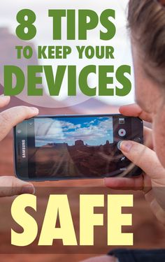 8 Ways to Keep Your Kids Safe Online & Devices Secure While Travelling