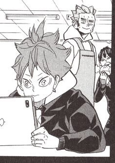Haikyuu Ships, Haikyuu Fanart, Haikyuu Anime, Hottest Anime Characters, Funny Anime Pics, Kagehina, Manga Pages, Karasuno, Anime Angel