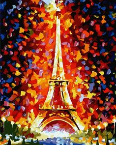 Paint By Numbers Kits based off of a painting by my favorite artist, Leonid Afremov!!! I LOVE this ♥