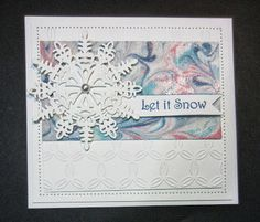 PartiCraft (Participate In Craft): Let It Snow - Video Tutorial