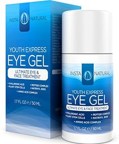 InstaNatural THE BEST Eye Cream For Dark Circles, Puffiness, Wrinkles & Bags – Best Under Eye Gel For Eye Bags, Crows Feet and Fine Lines -All Natural- 1.7 Ounces | Your #1 Source for Beauty Products