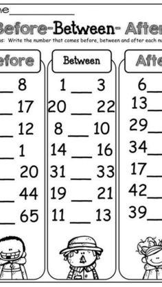 Homeschool Worksheets, 1st Grade Math Worksheets, English Worksheets For Kids, Number Worksheets, Writing Activities For Preschoolers, Kindergarten Math Activities, Preschool Writing, Grande Section, Math For Kids