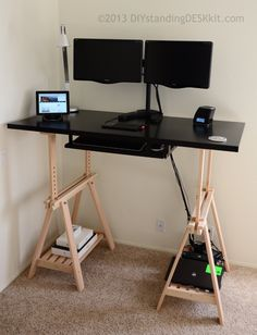 59999 ApexDesk Electric Height Adjustable Sit to Stand Desk