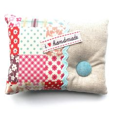 Zakka Style Pin Cushion by Flying Blind On A Rocket Cycle, via Flickr