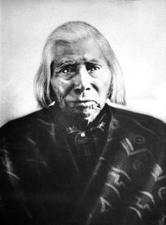 Chief Garry (ca.1811-92). He was educated at an Anglican mission school, baptized on June 24, 1827.  He could speak English and French. He became the Chief of his tribe after his father died. He spent a few years preaching his faith and teaching agriculture. He continued teaching into old age and advising his people until he allegedly gave into gambling and drinking. During his final years he spent much of his time living in his teepee on the Spokane River.