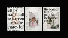 """Check out this @Behance project: """"LEGACY 
