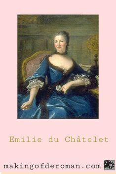 Gabrielle Emilie du Châtelet, née Le Tonnelier de Breteuil, est considerée comme la première savante ( reconnue pour son travail par ses contemporains ) française. Epistolière, traductrice, femme de lettres, noble, physicienne, philosophe, commentatrice, femme très « à la mode » à son époque, elle a contribué à beaucoup d'ouvrages, de traductions de traité. Quittant sa vie mondaine lors de sa rencontre avec Voltaire, Madame du Châtelet consacre le reste de sa vie aux sciences et aux lettres. Marianne, Madame, Portrait, Roman, Mona Lisa, Artwork, Learn Physics, Dating, Letters