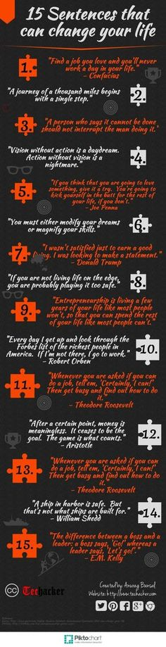 15 Sentences That Can Change Your Life Pictures, Photos, and Images for Facebook, Tumblr, Pinterest, and Twitter