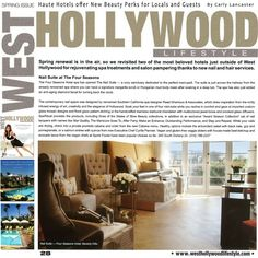 "Check out the latest media coverage of the Raad Ghantous & Associates / RG&A designed Four Seasons Los Angeles at Beverly Hills Nail Salon Suite!! ... This time by Carly Lancastar for West Hollywood Lifestyle Magazine (www.facebook.com/WestHollywoodLifestyleMagazine) ""The Four Seasons Hotel Spa has opened The Nail Suite - a cozy sanctuary dedicated to the perfect mani-pedi. The contemporary nail space was designed by renowned Southern California spa designer Raad Ghantous & Associates, which…"