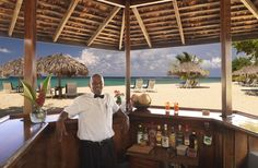 The legendary Teddy has served up drinks, along with friendships, for more than 50 years at the Beach Bar at Jamaica Inn. http://jamaicainn.com/resort.php